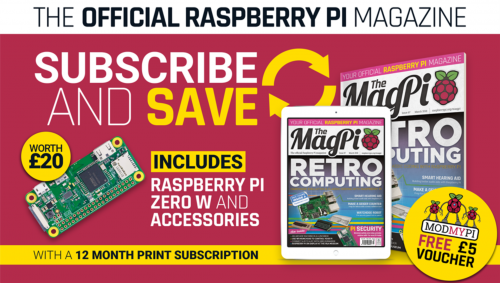 The MagPi subscription offer — The MagPi 74