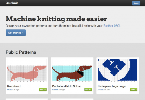 Sarah Spencer Knitting Network Printer