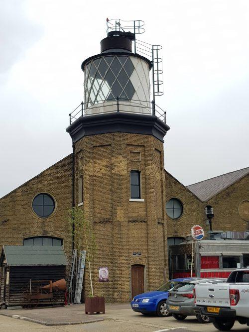 Lame_Dave's Raspberry Pi Trinity Buoy Wharf Lighthouse