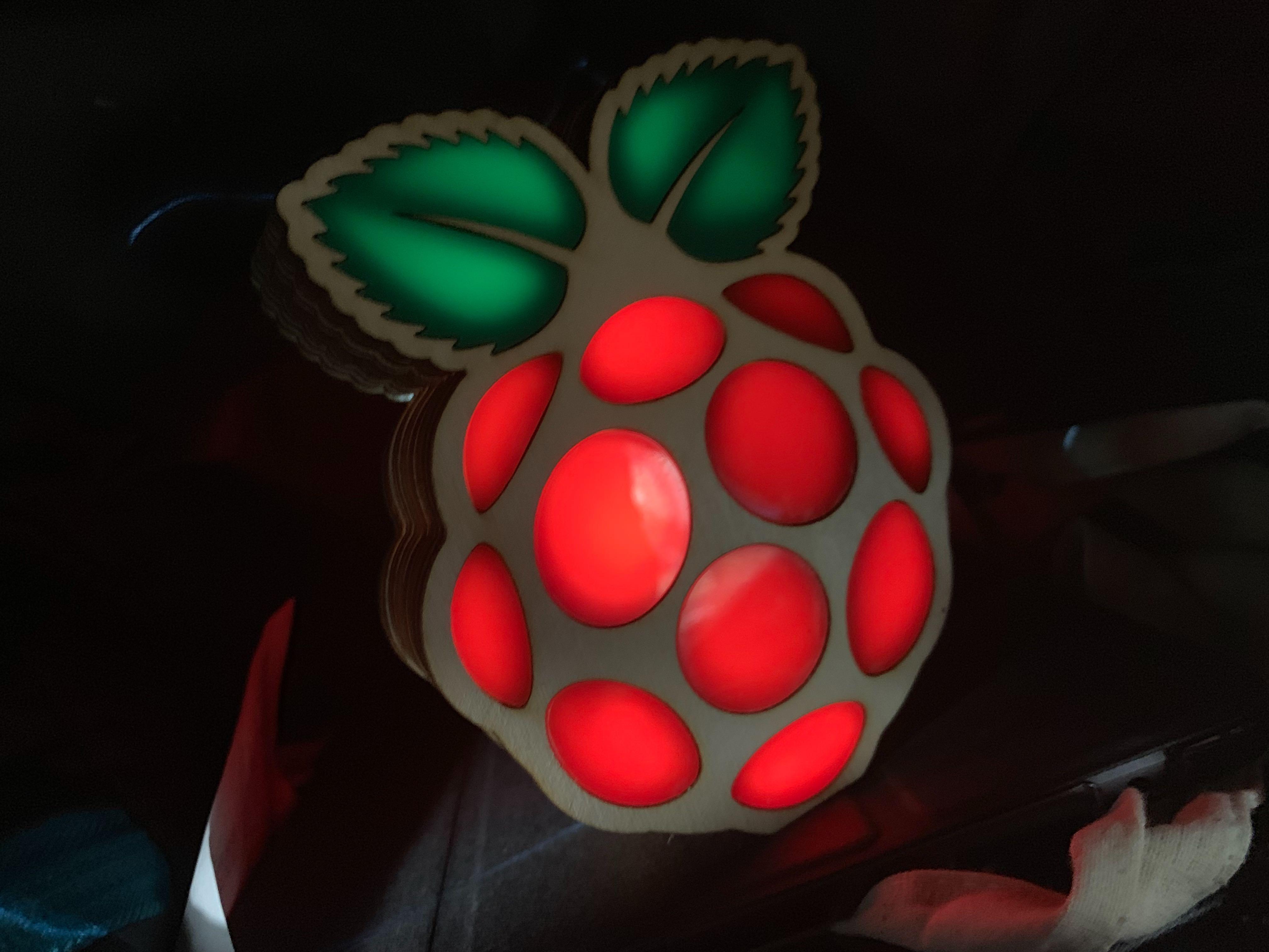 Raspberry Pi laser cut box #MonthOfMaking