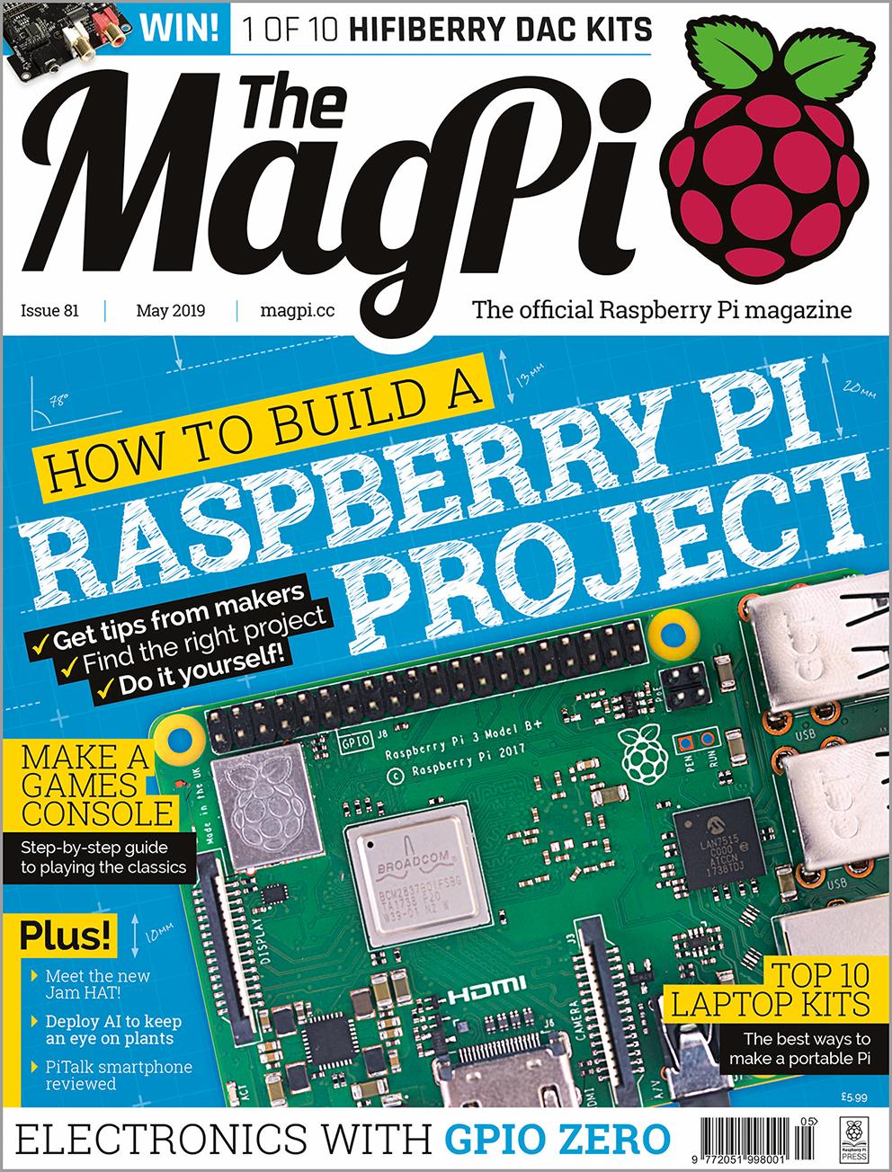 The MagPi magazine issue 81