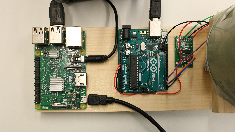 The Intelli-T Raspberry Pi sensor alarm