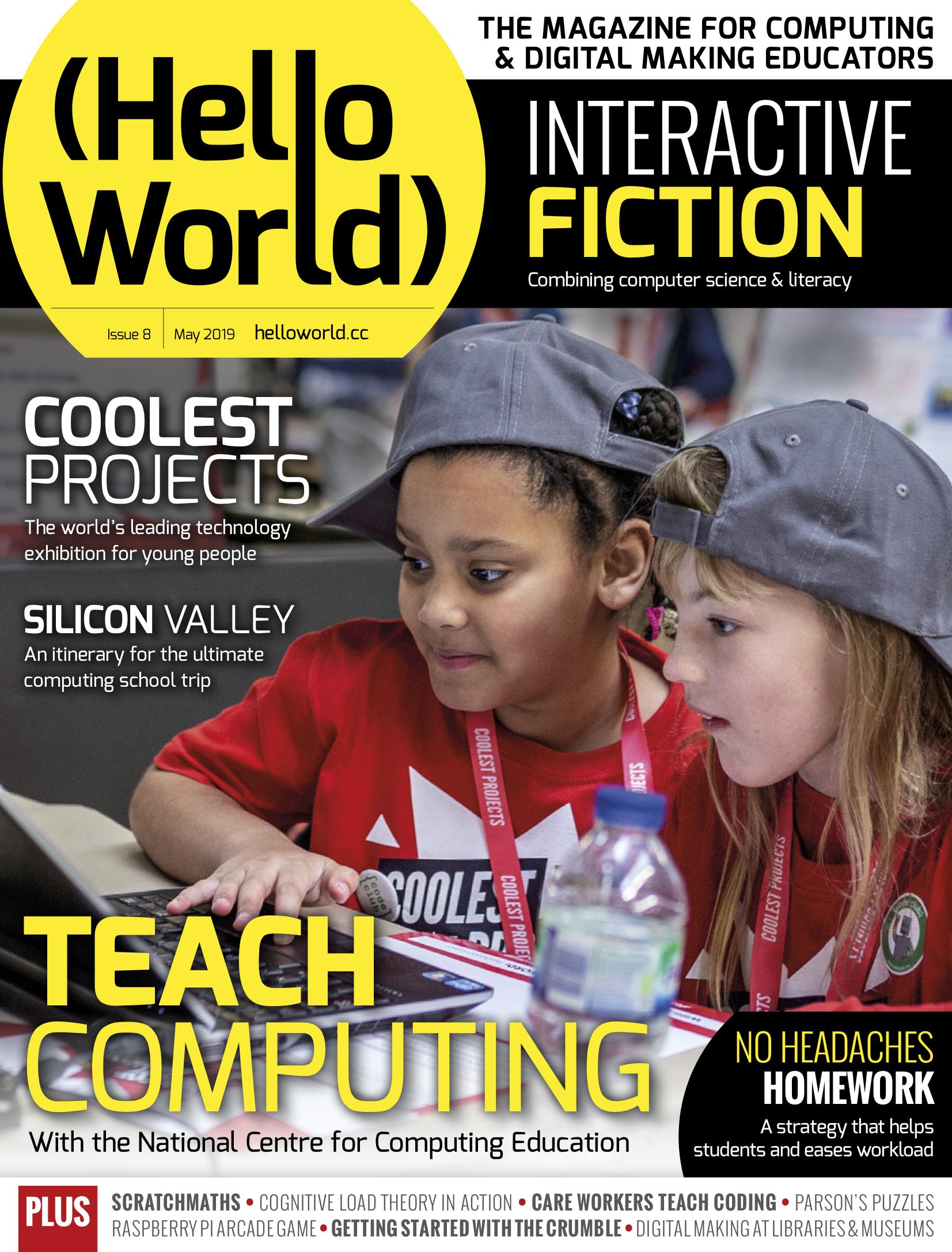 Hello World issue 8