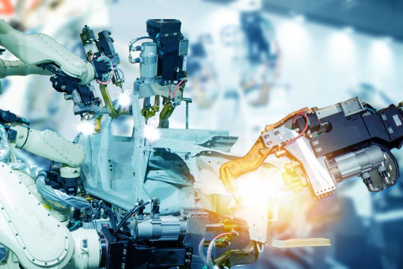 Robots making things!