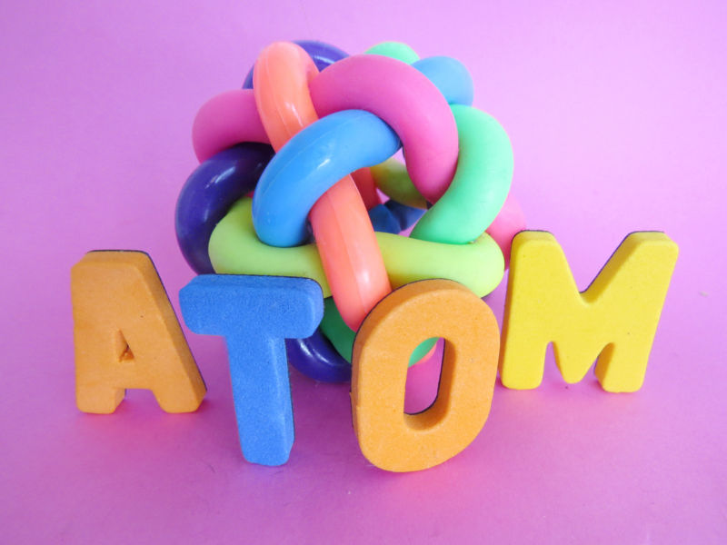 If only controlling electron behavior was as easy as building atom illustrations out of children's toys...