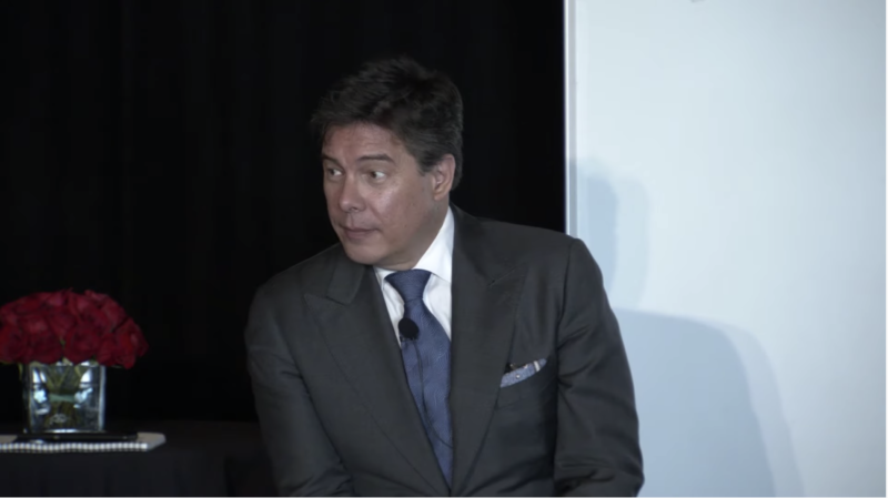 Robert Grant, Crown Sterling CEO and founder, emcee'd a demonstration of crypto-cracking at an event yesterday. Cryptographers were not impressed.
