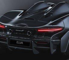 McLaren Elva Is A Gorgeous Roofless Flagship Land Dart With 800 Horsepower