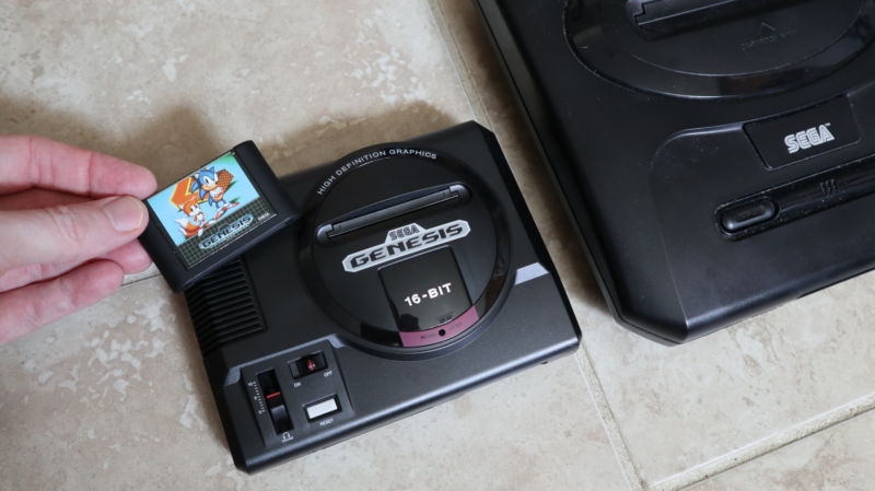 The Sega Genesis Mini.