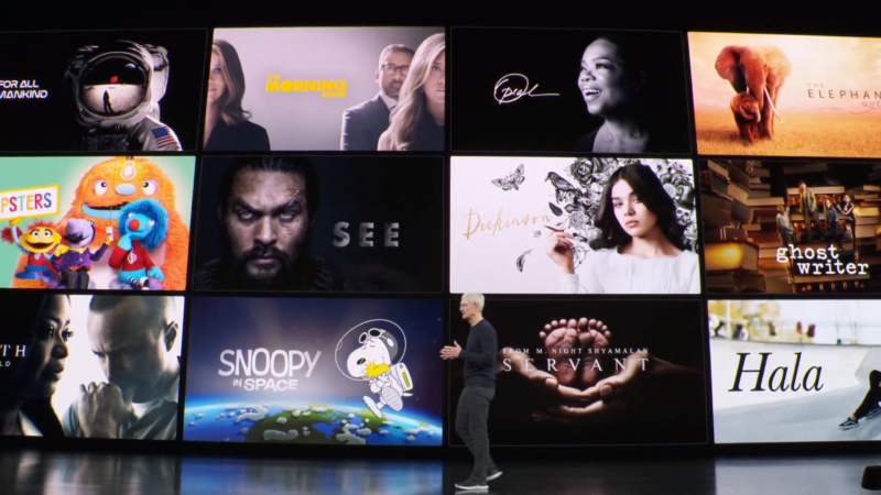 """When Apple TV+ landed on November 1, it did not include all of these original series, thanks to its """"soft launch."""""""