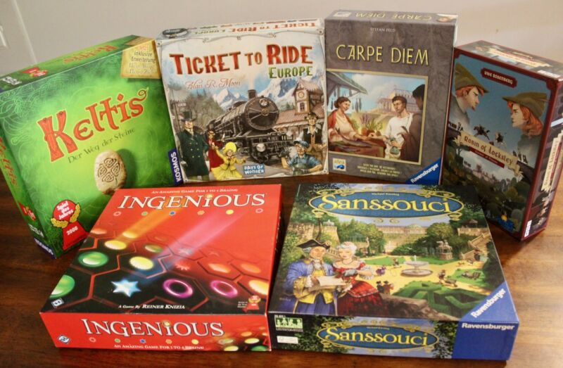 6 board games I'm playing during the pandemic