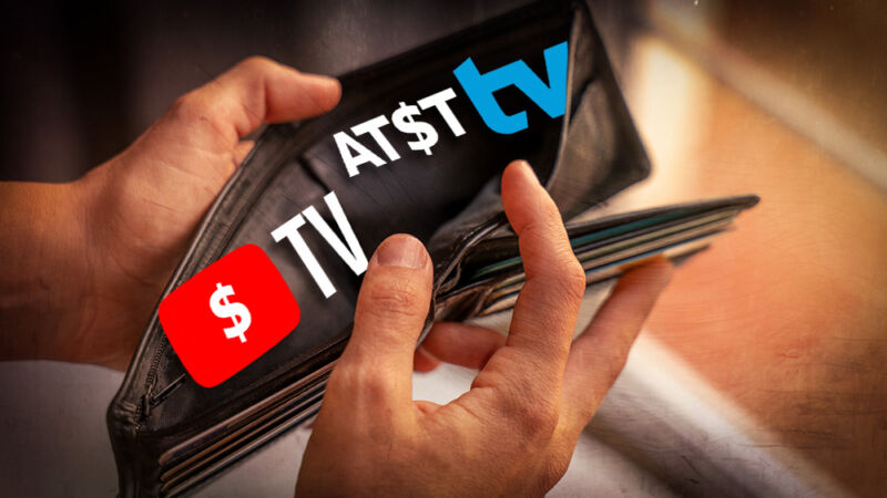 An odd coincidence: YouTube TV and AT&T rolled out price hikes on the same day.