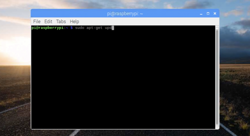 Screen grab of raspberry pi os being installed inline code