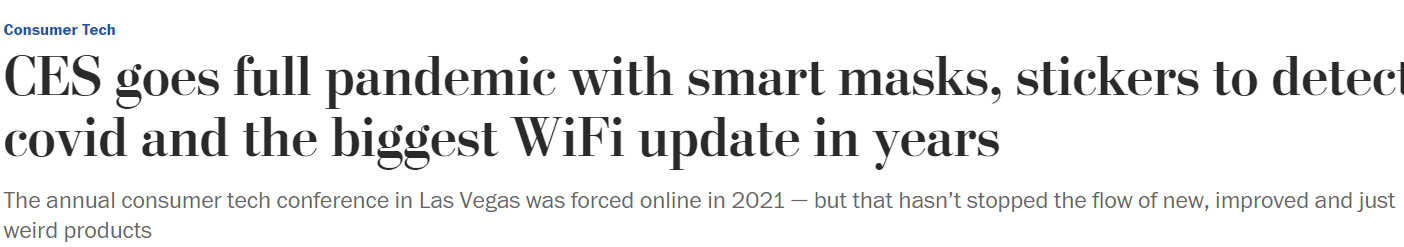 Screenshot from The Washington Post