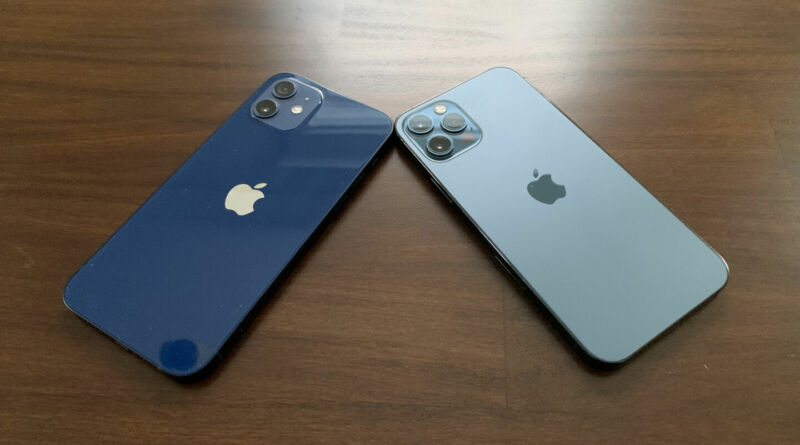 The iPhone 12 and 12 Pro. The next iPhones aren't expected to change looks very much.