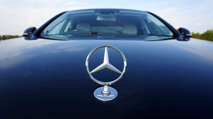 mercedes-benz emblem auto benz car mercedes