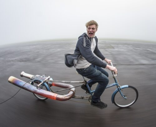 Colin Furze, special judge for Coolest Projects