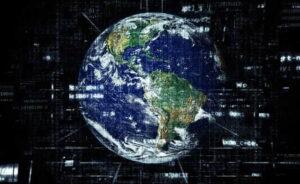 earth internet globalisation technology network