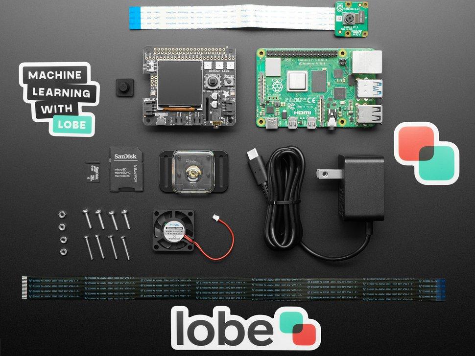 full adafruit lobe kit