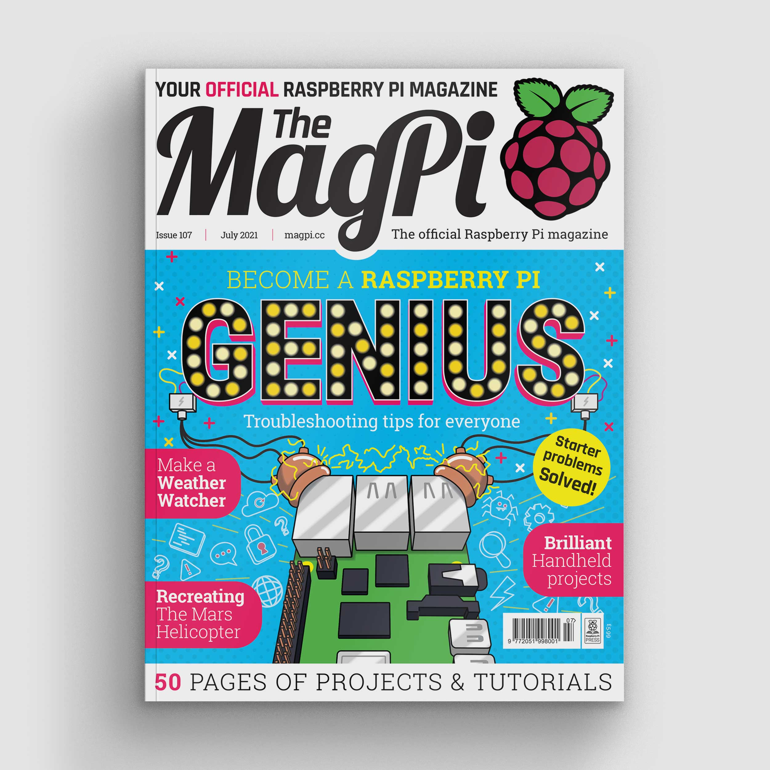 MagPi 107 cover