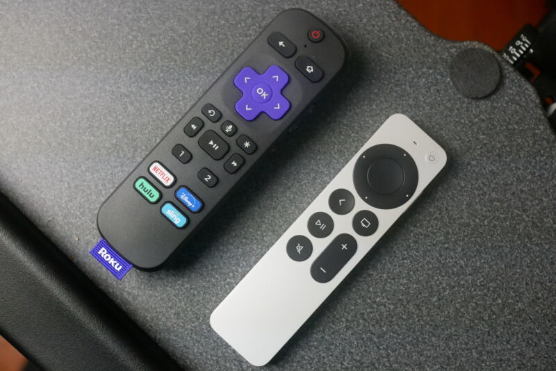 Apple's and Roku's new remotes are a welcome upgrade to their respective streaming experiences, and they're compatible with older models.