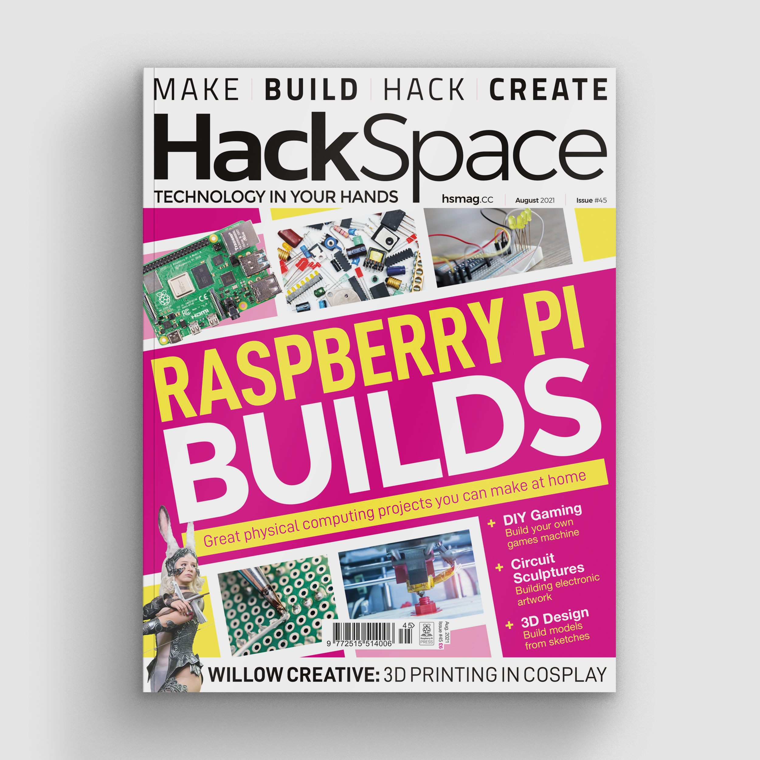 Hack space magazine issue 45 front cover
