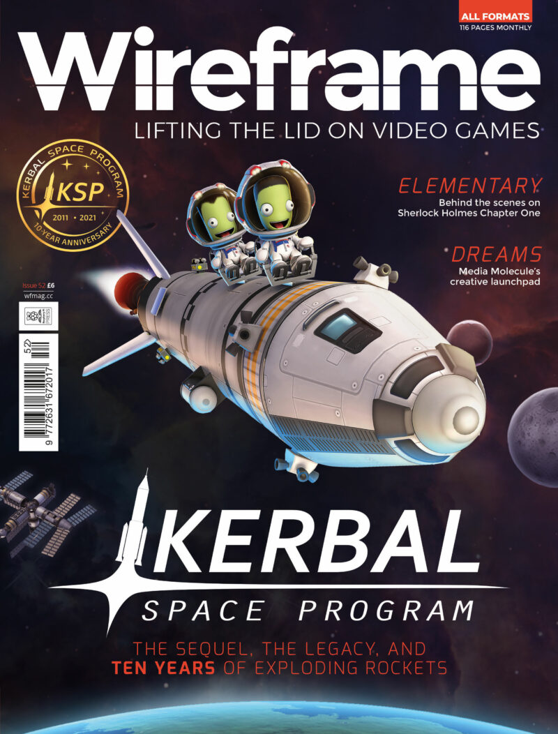 Wireframe issue 52's cover