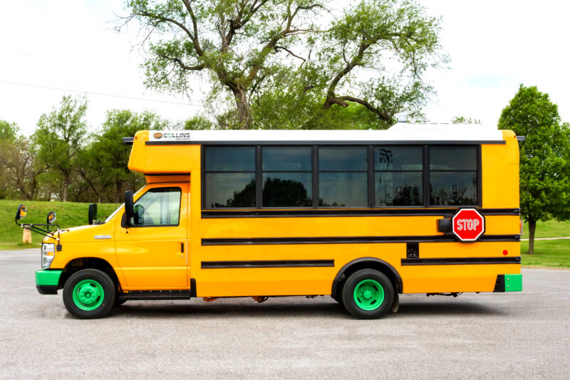 A Type A school bus