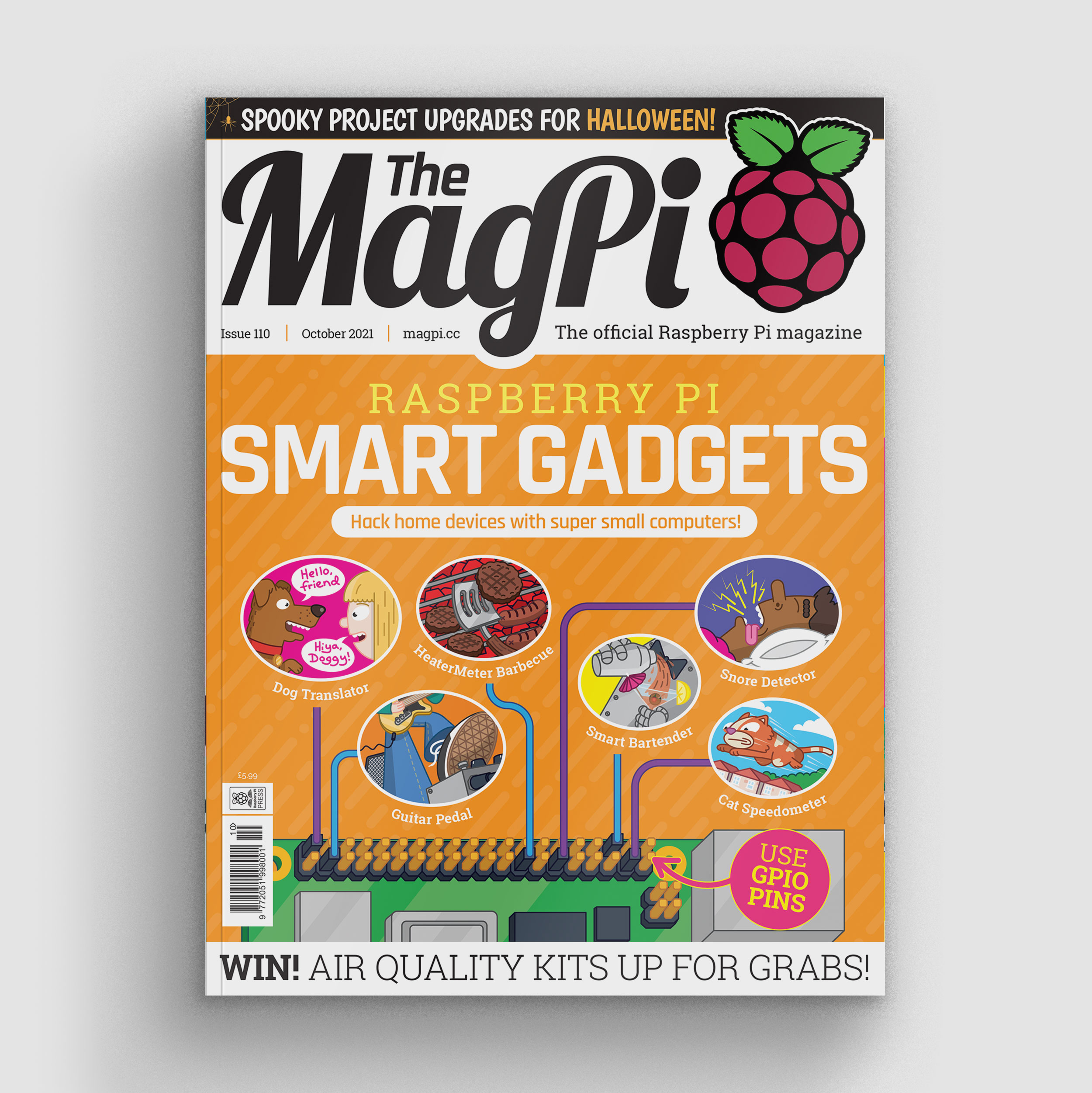 MagPi 110 Halloween cover