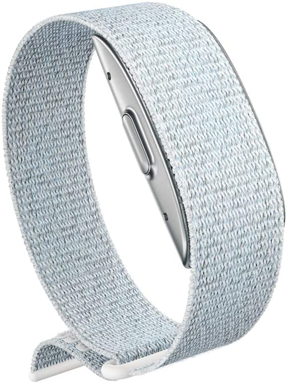 Amazon Halo Band in silver.