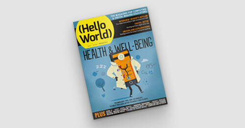 Cover of issue 17 of Hello World.