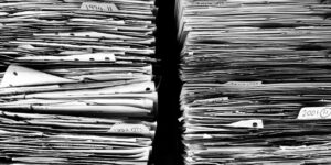 Files Paper Office Paperwork Stack Work Data