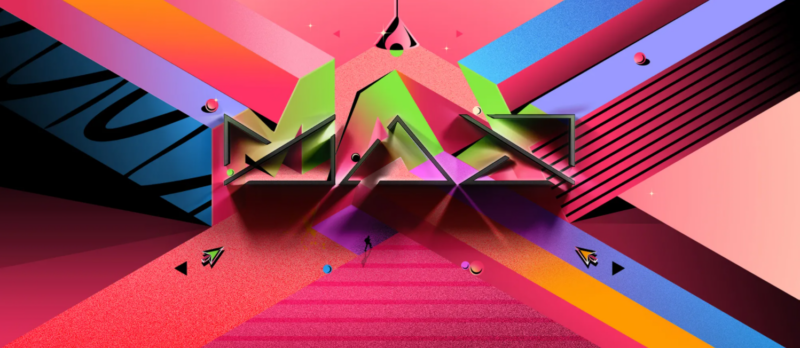 The somewhat inscrutable branding for Adobe's MAX conference.